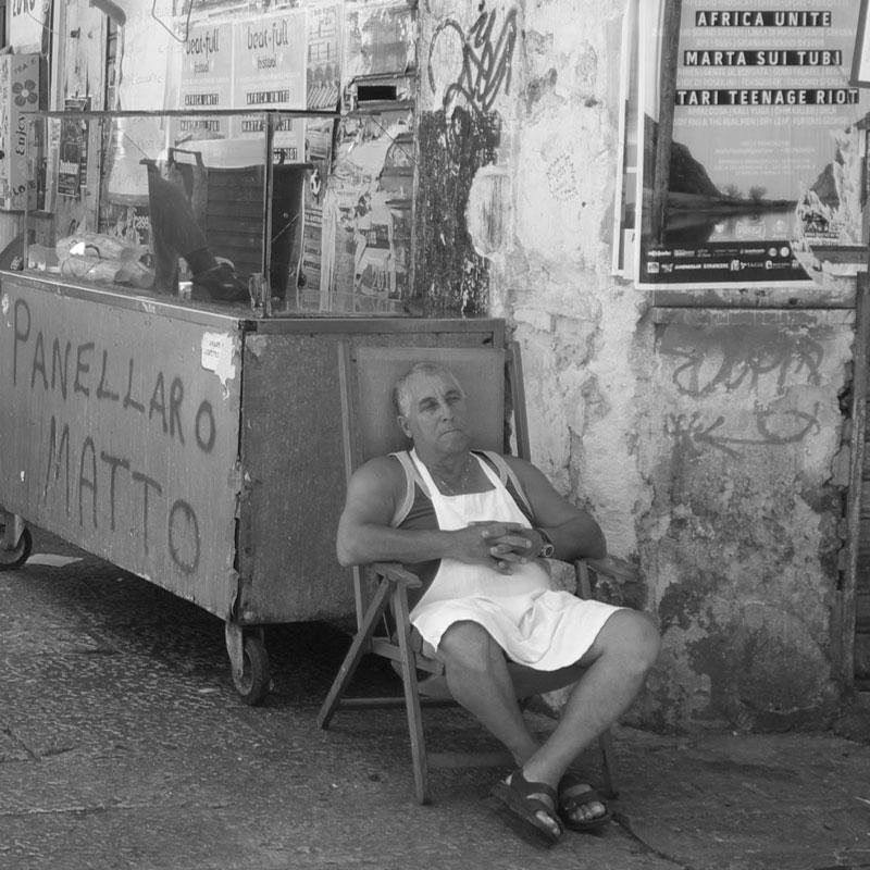 Ilaria Guccione, Panellar matto (Palermo, 2013). Fonte: Tessitoria dell'Altrove