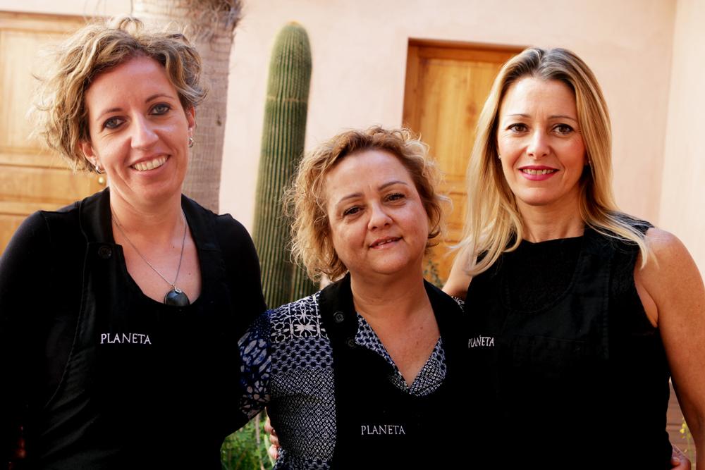0 PLANETA FOOD CHALLENGE le tre finaliste